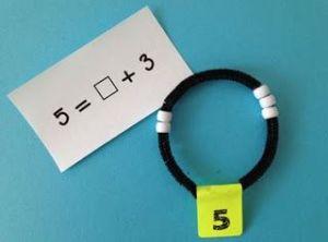 structuur van het getal armband