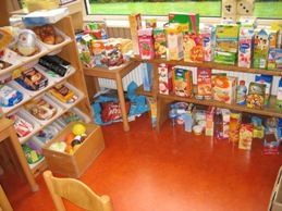 supermarkt in de klas